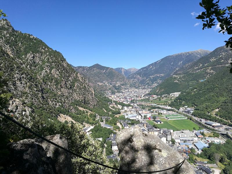 Βουνό sity στοκ φωτογραφία με δικαίωμα ελεύθερης χρήσης