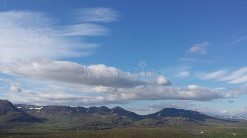 Βουνό Skà ¡ lafell στοκ εικόνα
