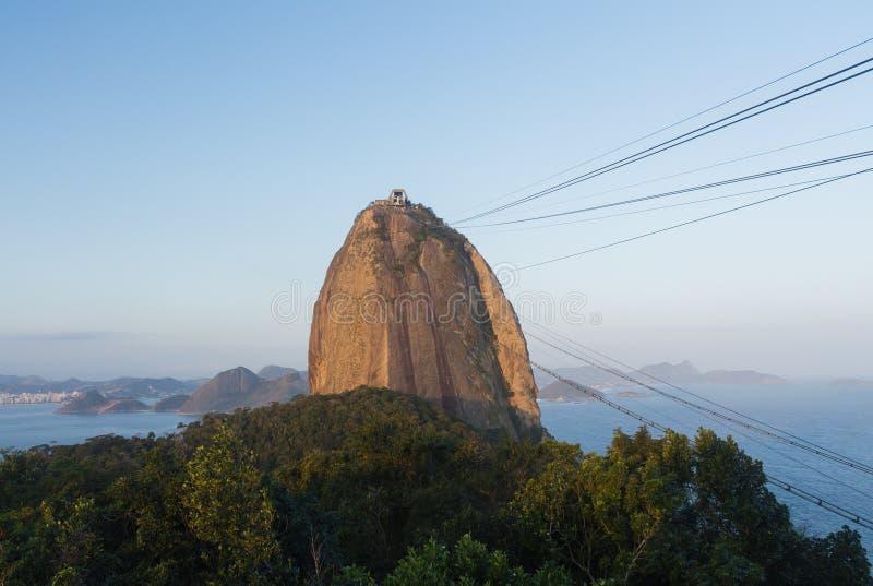 Βουνό Sugarloaf - Ρίο ντε Τζανέιρο στοκ φωτογραφία