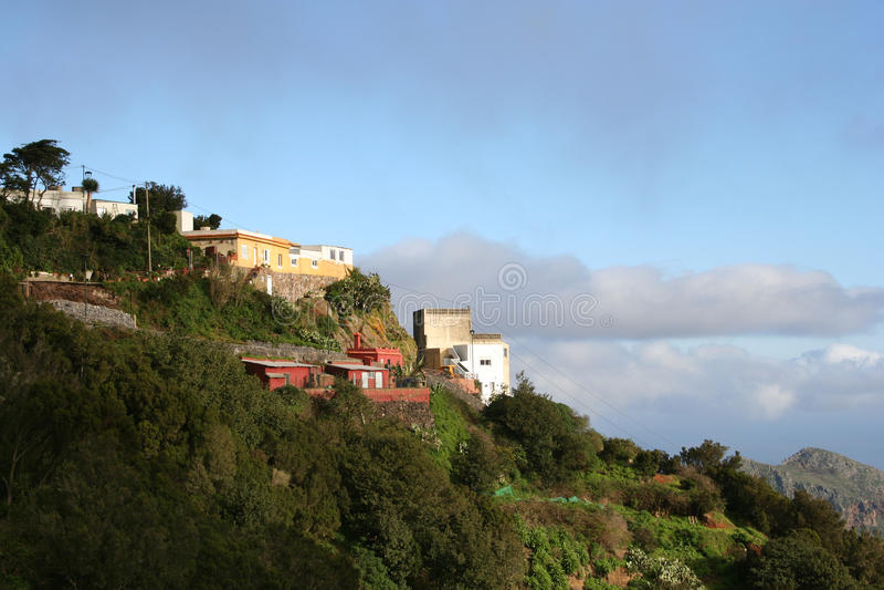 βουνό tenerife anaga στοκ φωτογραφίες