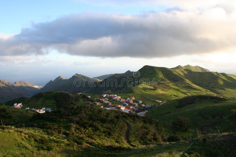 βουνό tenerife anaga στοκ φωτογραφία