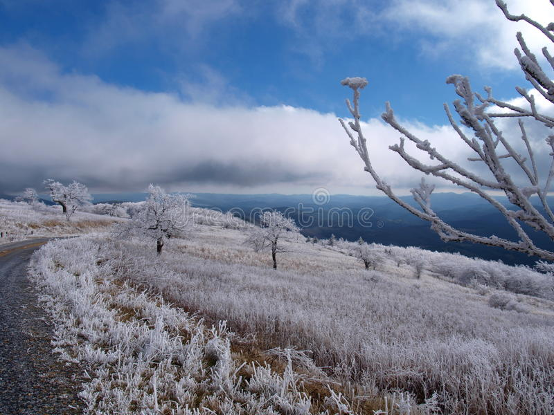 Download Βουνό Whitetop στοκ εικόνα. εικόνα από χιονώδης, πάγος - 62712861