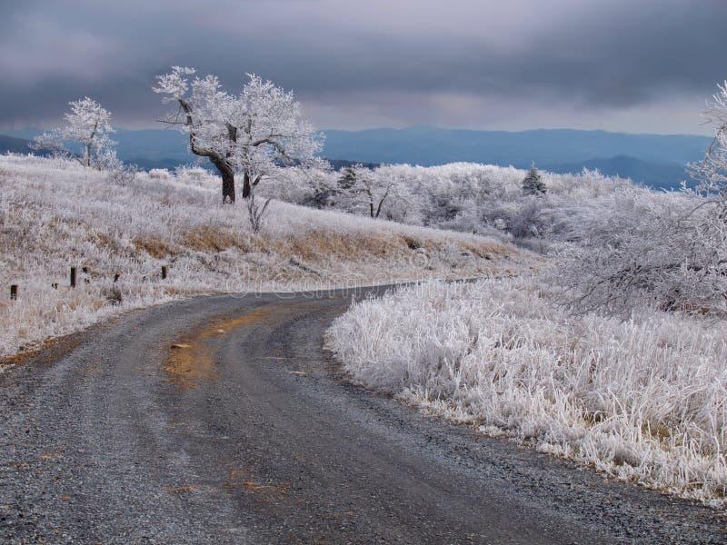 Download Βουνό Whitetop στοκ εικόνα. εικόνα από χειμώνας, άσπρος - 62712873