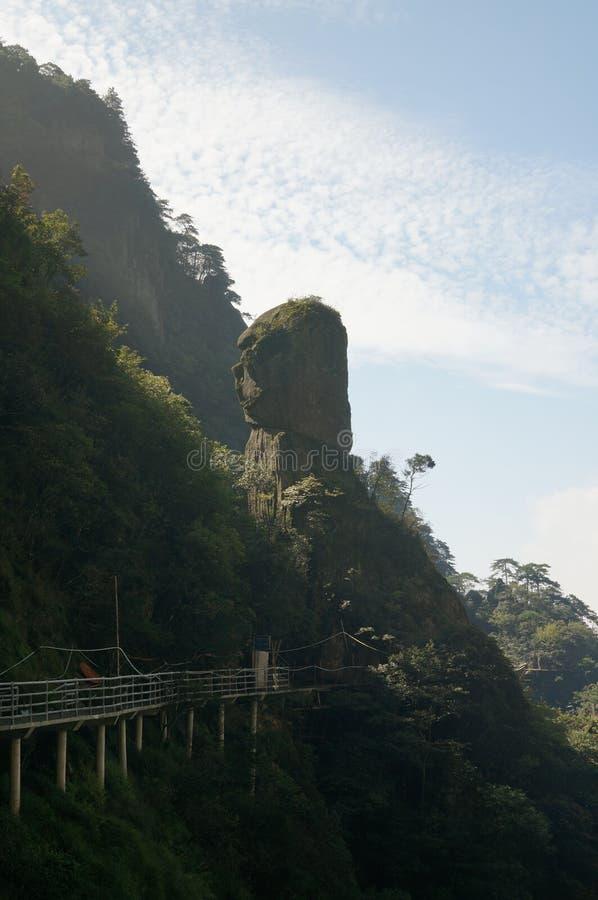 Βουνό Wugong στοκ εικόνες