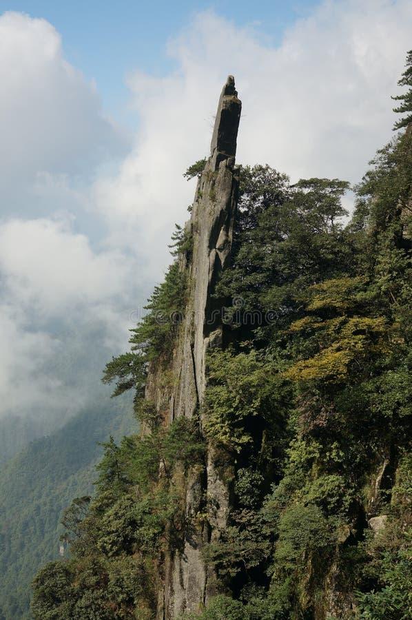 Βουνό Wugong στοκ φωτογραφία