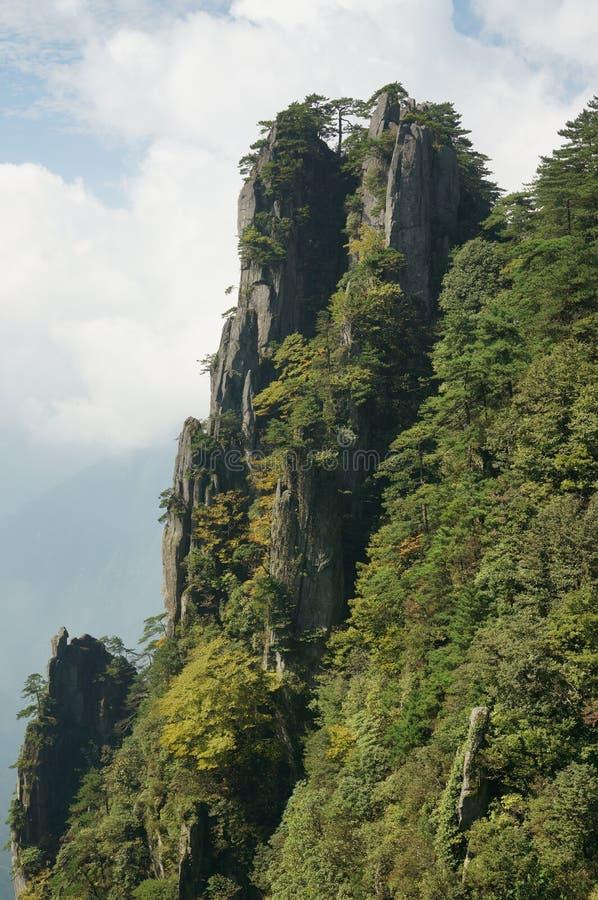 Βουνό Wugong στοκ φωτογραφίες
