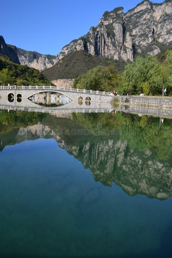 Βουνό Yuntai στοκ εικόνες