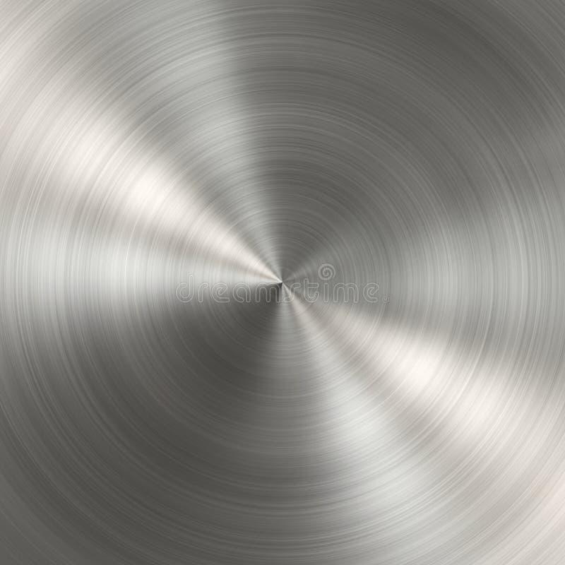 βουρτσισμένη κυκλική σύσ στοκ εικόνες με δικαίωμα ελεύθερης χρήσης