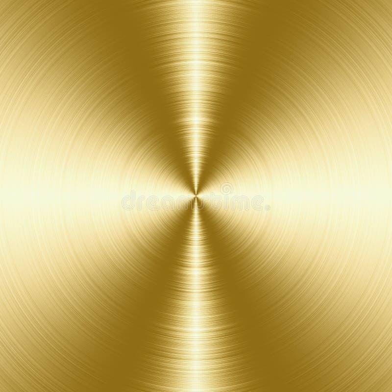 Βουρτσισμένη σύσταση μετάλλων ελεύθερη απεικόνιση δικαιώματος