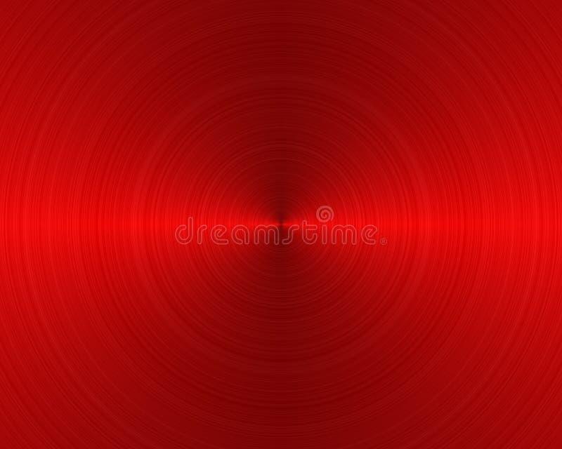 βουρτσισμένη backgrou σύσταση μετάλλων διανυσματική απεικόνιση