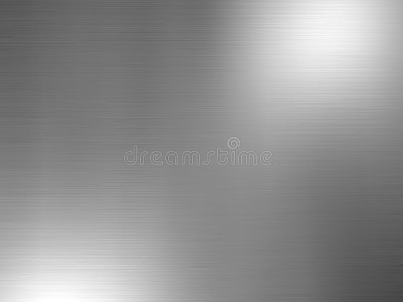 Βουρτσισμένο αλουμίνιο στοκ εικόνες