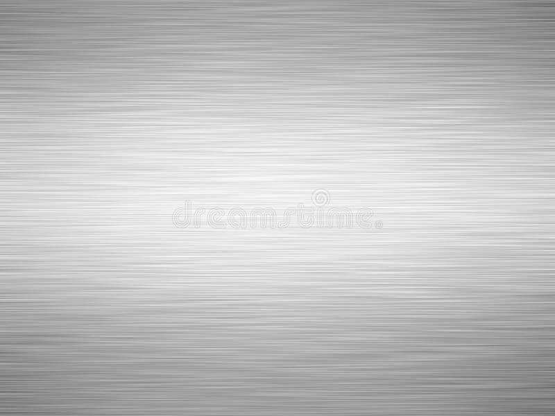 βουρτσισμένο ανασκόπηση φύλλο σιδήρου απεικόνιση αποθεμάτων