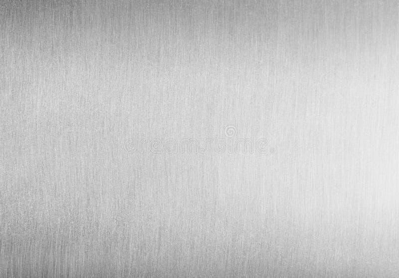 Βουρτσισμένο καθαρό υπόβαθρο μετάλλων στοκ φωτογραφία με δικαίωμα ελεύθερης χρήσης