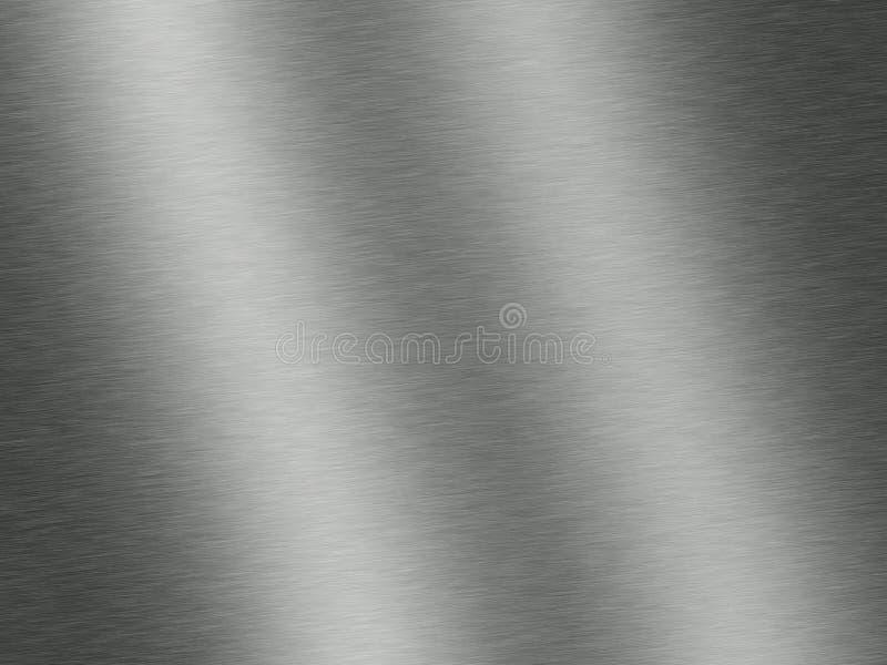 Βουρτσισμένο χάλυβας ή μέταλλο στοκ εικόνες