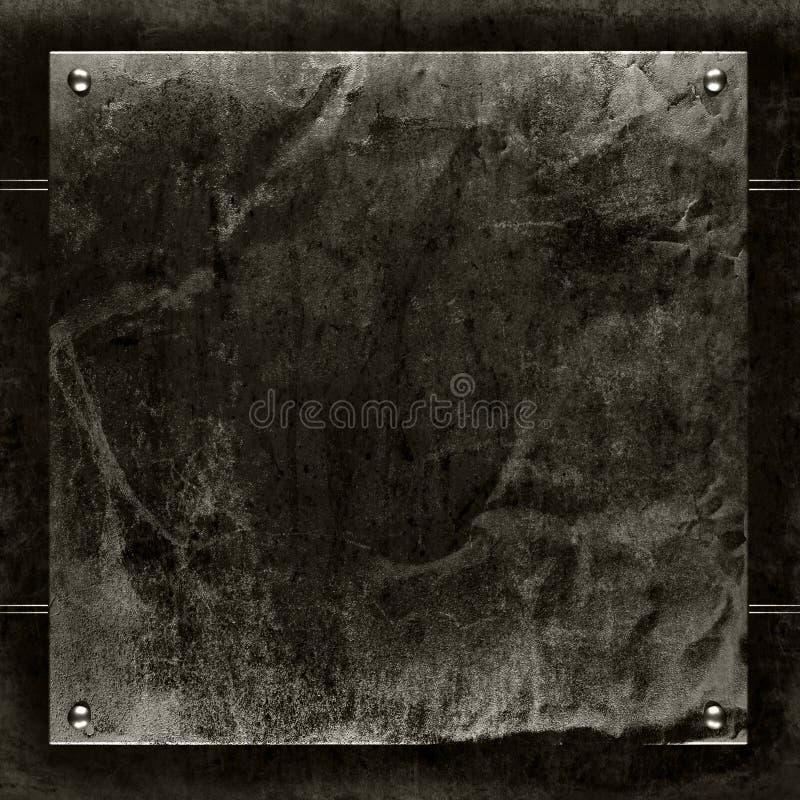 Βουρτσισμένο grunge υπόβαθρο μετάλλων στοκ φωτογραφίες