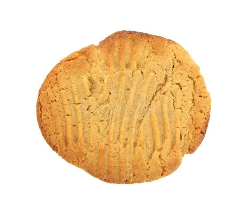 βουτύρου φυστίκι μπισκότων ενιαίο στοκ εικόνα με δικαίωμα ελεύθερης χρήσης
