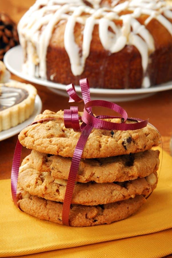 βουτύρου φυστίκι μπισκότ& στοκ εικόνα με δικαίωμα ελεύθερης χρήσης