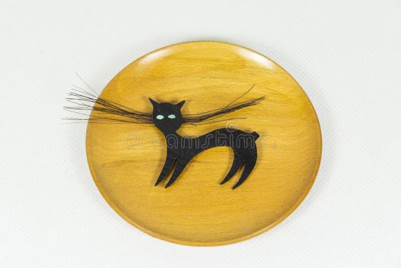 Βουλγαρική γάτα με τη χωρισμένη ουρά στοκ φωτογραφία