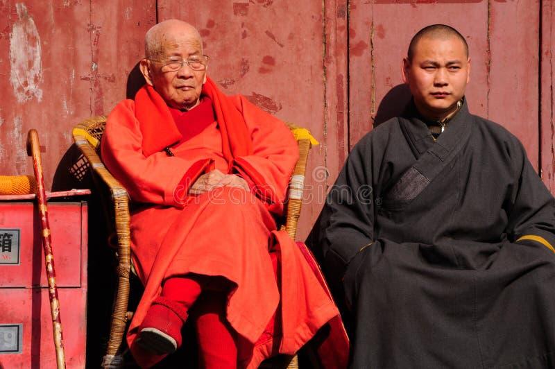 βουδιστικοί μοναχοί στοκ φωτογραφίες