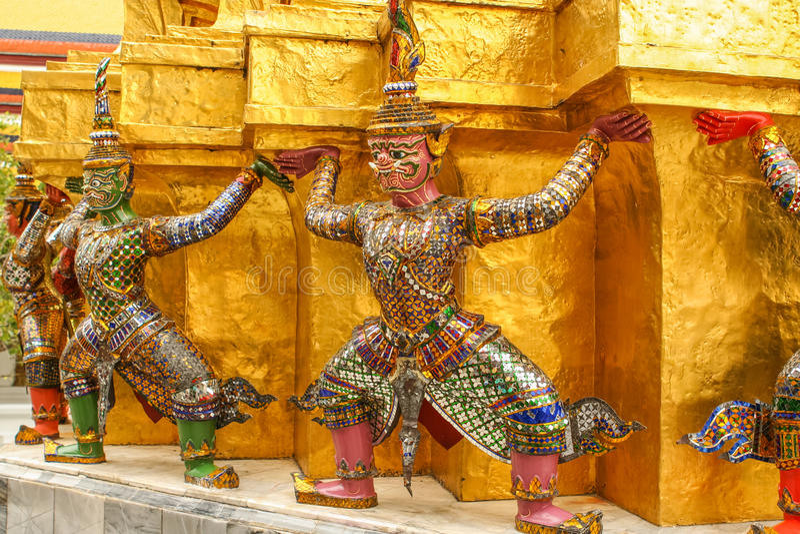 Βουδιστικός δαίμονας στοκ φωτογραφία με δικαίωμα ελεύθερης χρήσης