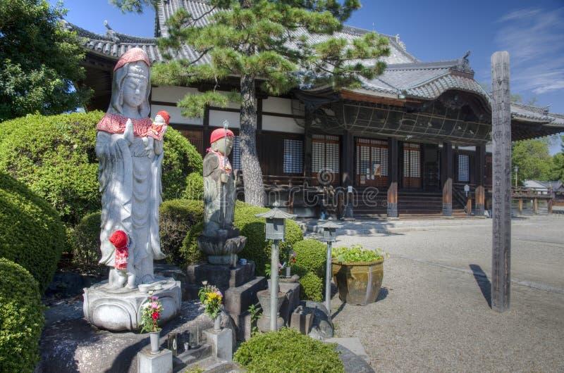 Βουδιστικός ναός, Νάγκουα, Ιαπωνία στοκ εικόνες