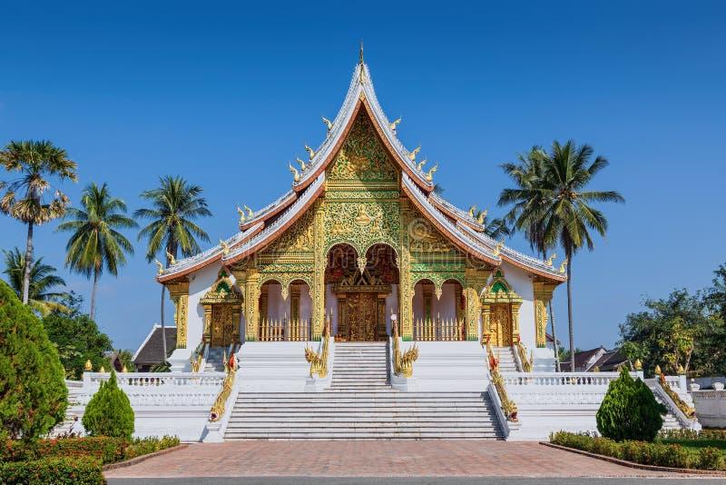Βουδιστικός ναός σε Luang Prabang Royal Palace στοκ εικόνα