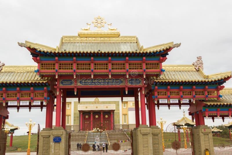 Download Βουδιστικός ναός της Καλμουκίας Elista Στοκ Εικόνα - εικόνα από πίστη, λατρεία: 62708207
