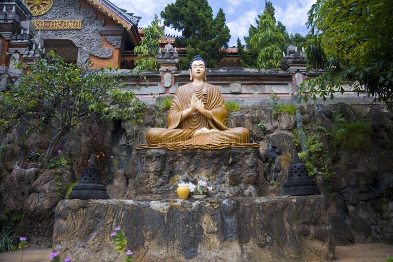 Βουδιστικός ναός brahmavihara-Arama στοκ εικόνα