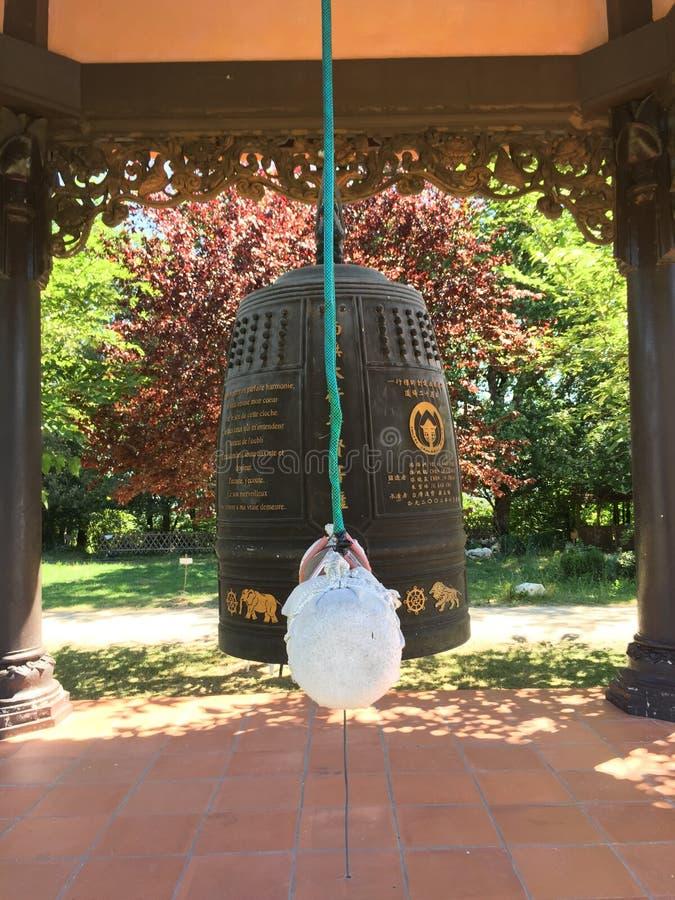 Βουδιστικό κουδούνι στοκ φωτογραφίες με δικαίωμα ελεύθερης χρήσης