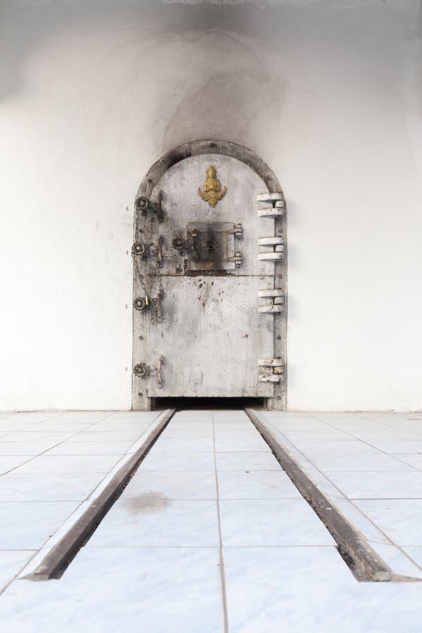 Βουδιστικό κρεματόριο στην Ταϊλάνδη στοκ εικόνες