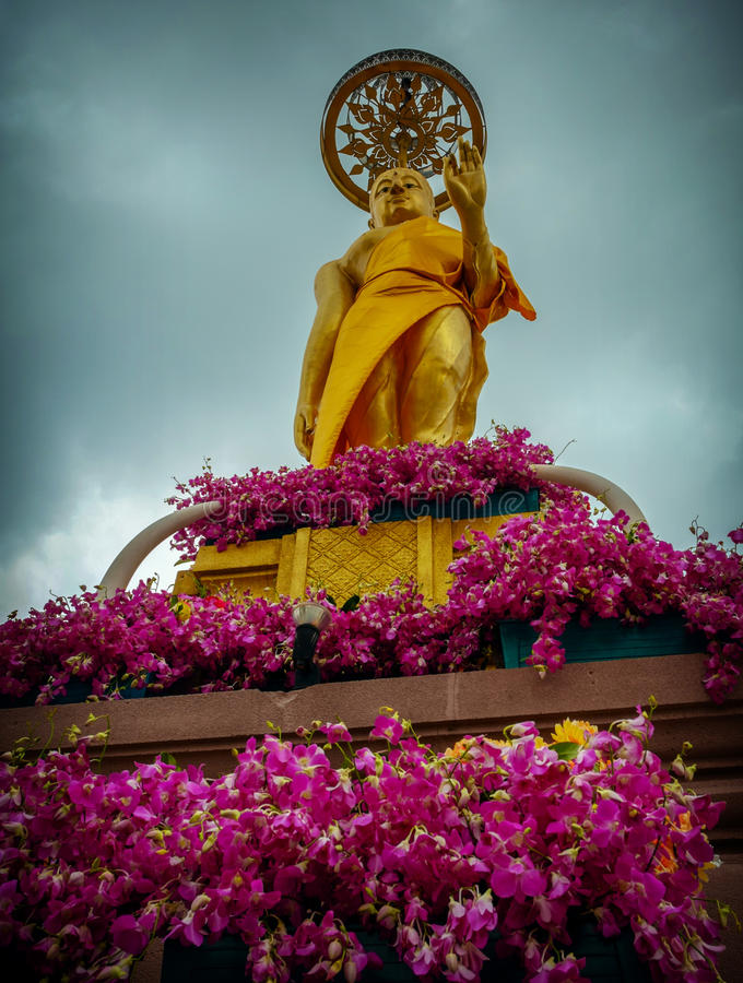 Βουδιστικό σχολείο Jittapawan - Ταϊλάνδη στοκ φωτογραφία με δικαίωμα ελεύθερης χρήσης