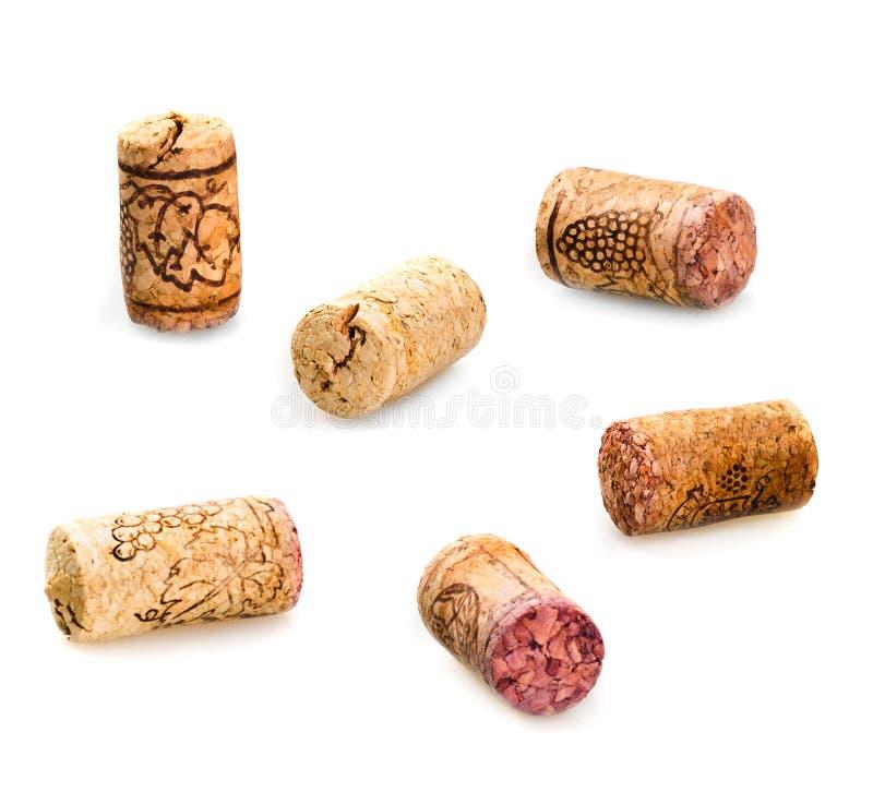 βουλώνει το παλαιό κρασί στοκ εικόνες