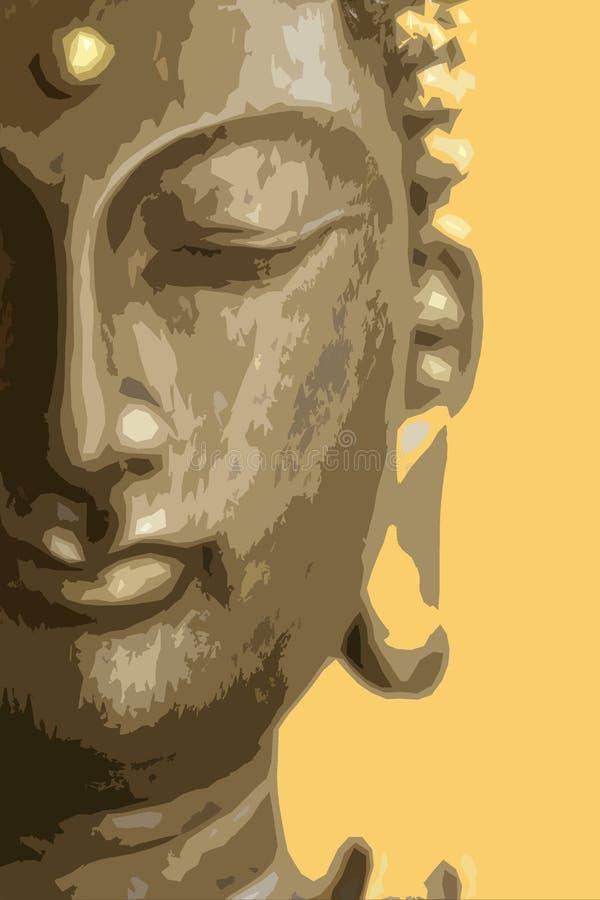 Βούδας διανυσματική απεικόνιση