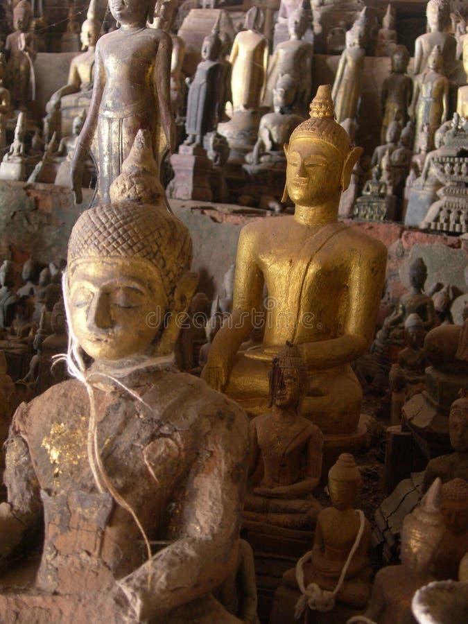 Βούδας cave2 στοκ εικόνες