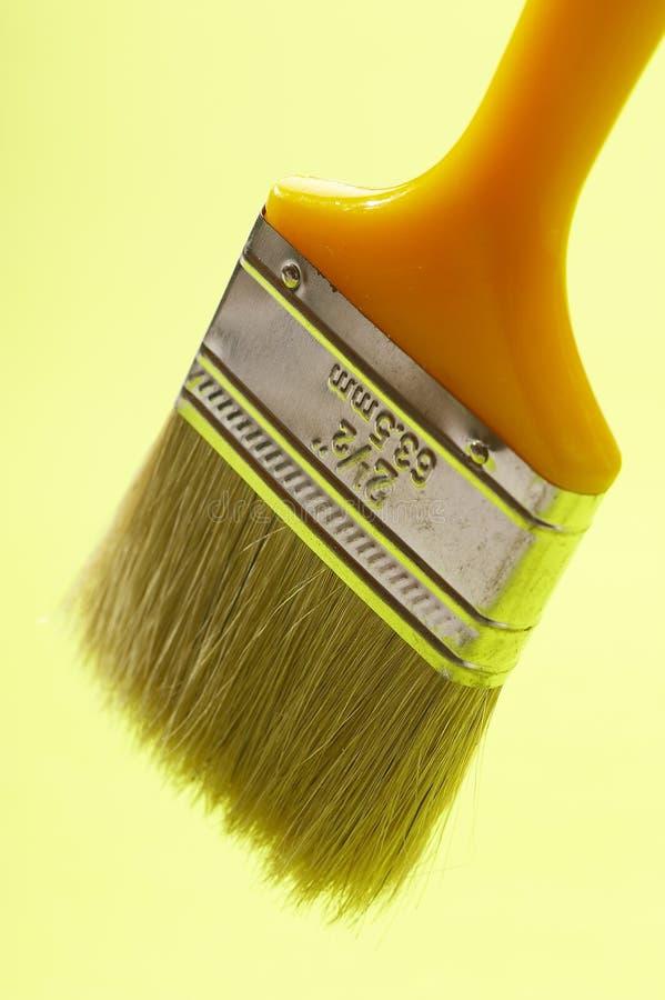 βούρτσα κίτρινη στοκ φωτογραφία με δικαίωμα ελεύθερης χρήσης