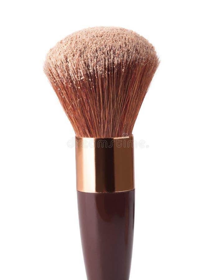 Βούρτσα και σκόνη Makeup στοκ φωτογραφία με δικαίωμα ελεύθερης χρήσης