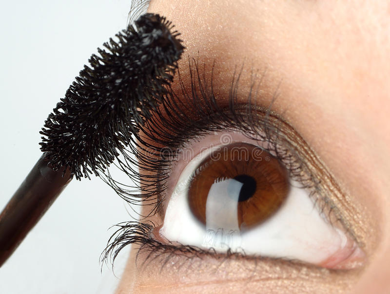 βούρτσα eyelash στοκ εικόνες με δικαίωμα ελεύθερης χρήσης