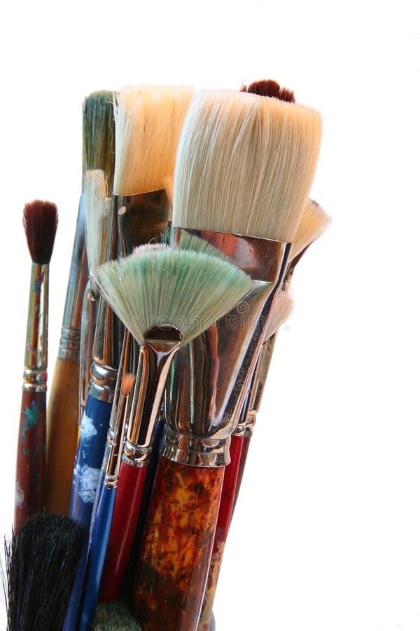 βούρτσες καλλιτεχνών στοκ εικόνες με δικαίωμα ελεύθερης χρήσης