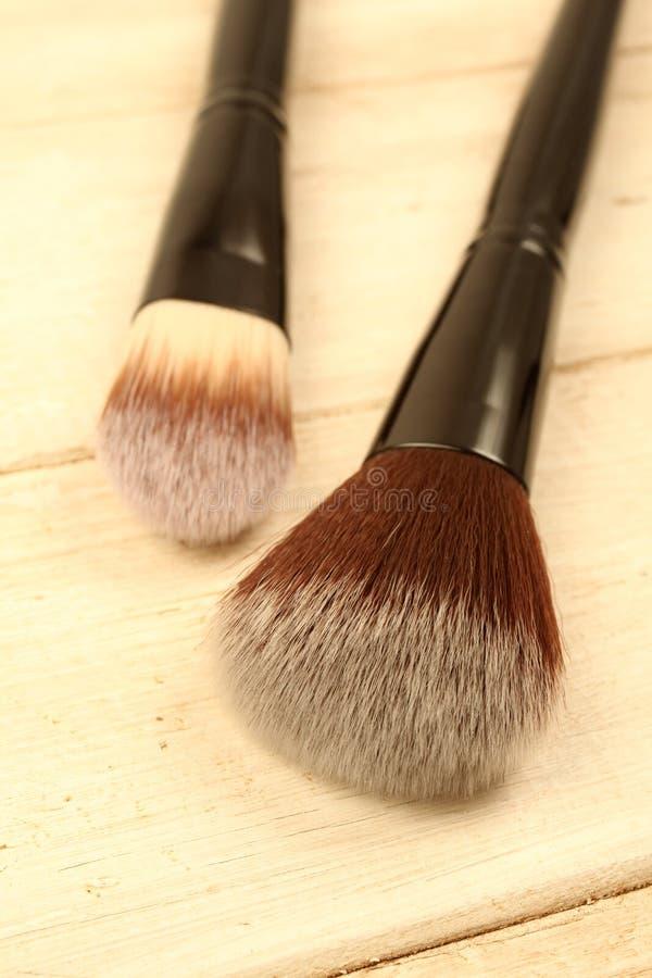 Βούρτσες Makeup στοκ φωτογραφία με δικαίωμα ελεύθερης χρήσης