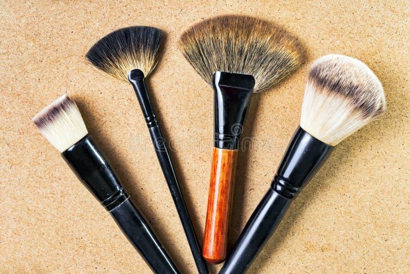 Βούρτσες Makeup στοκ εικόνα με δικαίωμα ελεύθερης χρήσης