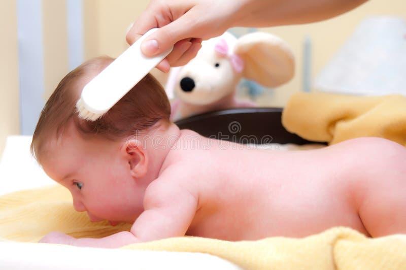 βούρτσισμα μωρών στοκ φωτογραφίες με δικαίωμα ελεύθερης χρήσης