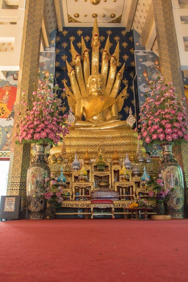 Βούδας σε βόρειο της Ταϊλάνδης στοκ εικόνα με δικαίωμα ελεύθερης χρήσης