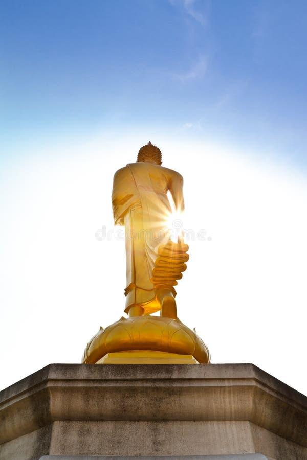 Βούδας χρυσός στοκ εικόνα με δικαίωμα ελεύθερης χρήσης