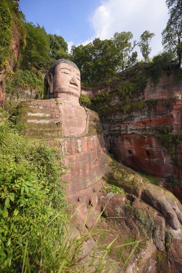 Βούδας leshan στοκ φωτογραφίες