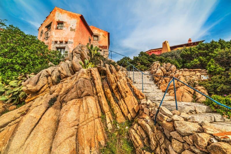 Βράχοι από ένα αγροτικό σπίτι στη Σαρδηνία στοκ φωτογραφίες με δικαίωμα ελεύθερης χρήσης