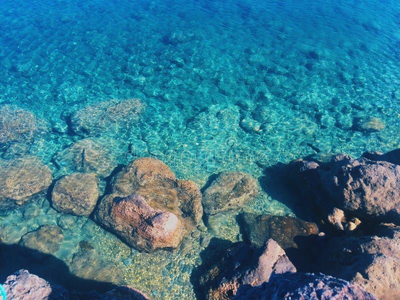 Βράχοι από την παραλία στοκ εικόνες
