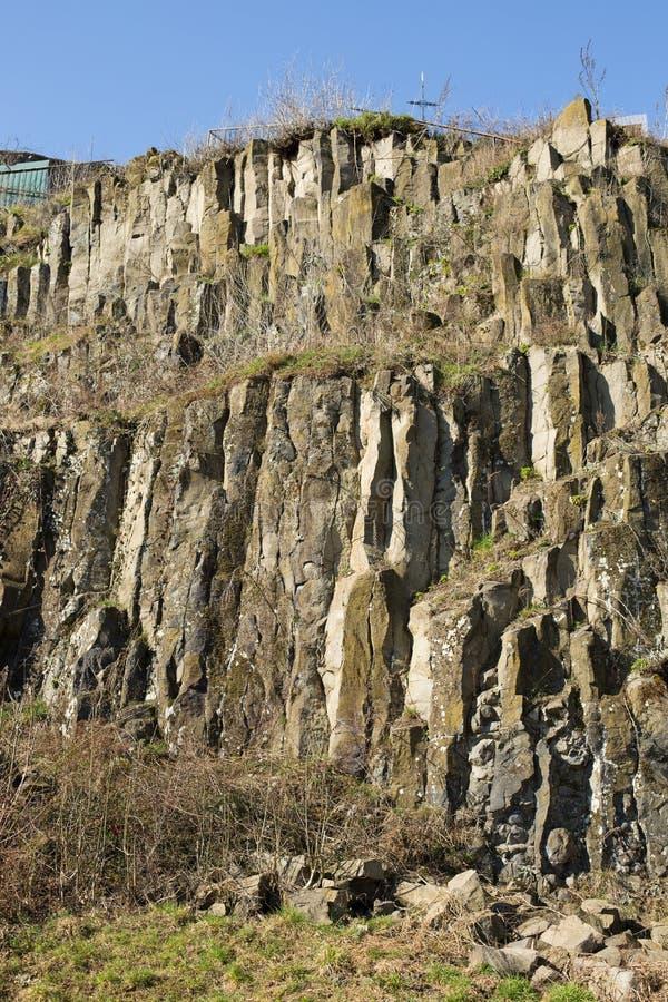 Βράχοι βασαλτών στοκ εικόνα με δικαίωμα ελεύθερης χρήσης