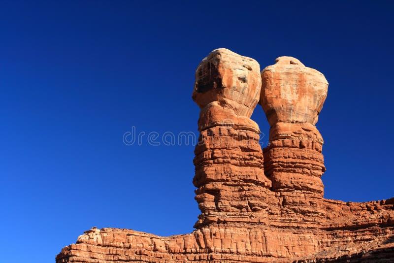 βράχοι δύο στοκ φωτογραφία με δικαίωμα ελεύθερης χρήσης