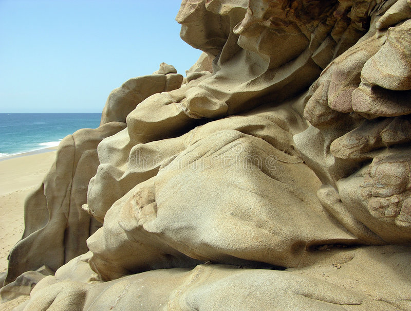 βράχοι παραλιών στοκ εικόνες