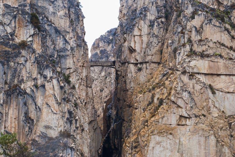 Βράχοι στην Ισπανία στοκ εικόνα